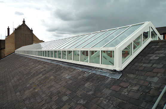 Large Raised Lantern Rooflight
