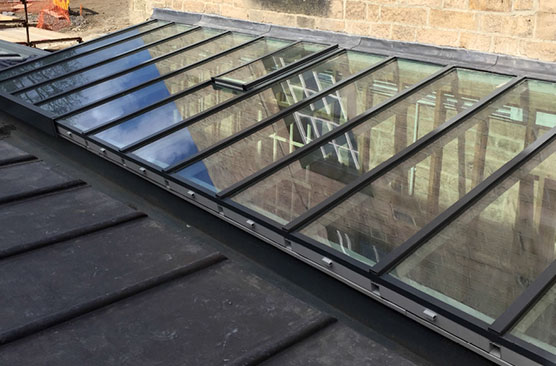 Pitched rooflight